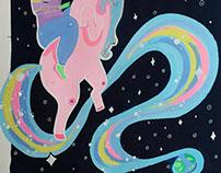 Unicorn Space Alien Adventure