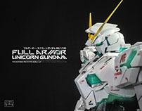 [Painted Build] MG 1/100 Full Armor Unicorn Gundam