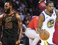 James vs. Durant