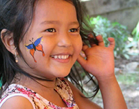 Face Painting as Trauma Relief Campaign
