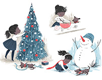 Some Holiday Illustrations