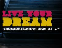 Nike Soccer | FC Barca US Tour Caption Contest