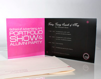 Saa Portfolio Show Invitation Design