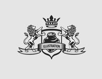 Illustration Nation Logo Ontwerp / Identity Design