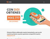 Landing Page - Paquete 777