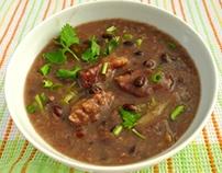 cách nấu cháo đậu đỏ thịt bò– Red Bean Porridge with B