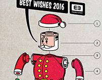 Christmas Card - Moebius Design