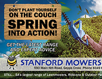 Stanford Mowers - Press Advertising Refresh