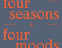 four seasons four moods