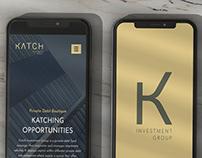 KATCH Investment - Optimización de website y renders
