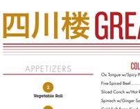 Great Sichuan Menu
