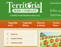 Territorial Seeds eCommerce Design