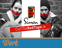 Simon Community - Cut The Red Tape (Campaign)
