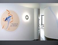 Dr. Schäfer Logo + Interieur