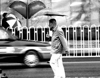 One rainy afternoon in Beijing