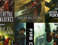 Warhammer 40K Novel Covers