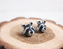 Miniature Animal Jewelry