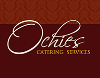 Ochie's Catering Services Logo and Website