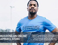 Business Case for Legend Fitness Apparel Store