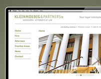 Kleinmoedig&Partners Website