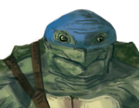Ninja Turtle Redesign