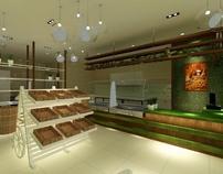 Bubble Land Bakery Shop On Behance