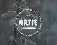 Artie - Handwritten Font