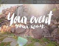 The Falls Event Center website