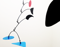 Mobil Sculpture, tribute Calder, by Diego Vergara Lira