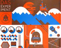 Screenprint - 'Das Experiment'