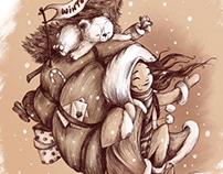 Winter wonderland sketches