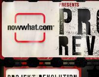 Now What? + Projekt Revolution + MySpace
