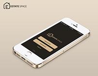 estate space application logo