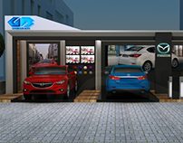 Mazda Booth in Arkan