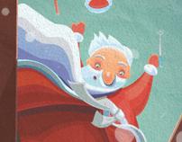 Dead Moroz (russian Santa Claus)