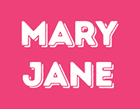 Mary Jane Bakery Branding