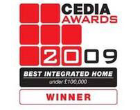 CEDIA Best integrated home 2009