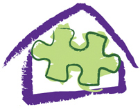 THE JIGSAW HOUSE Logo