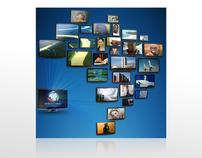 Capa de CD para Afiliadas Rede Record