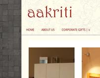 Aakriti Online Store (WEBSITE)