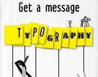 typographic posters series