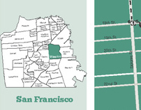 Map of the Mission District