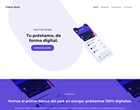Diseño de Interfaz y Desarrollo Web - Faktor Bank