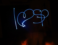 Light painting, 2012