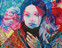 Featured works at 'Mimesis' Art Show
