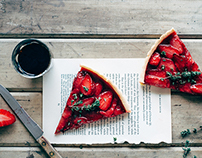 Strawberry & Thyme Tart