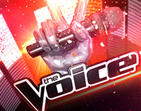"""The Voice"" Concept Boards"