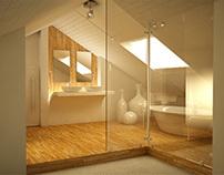 White attic.