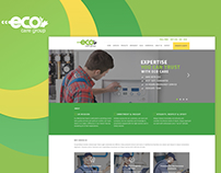 Eco Clean Group Web Design