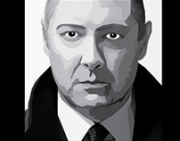 Vector Illustration: James Spader
